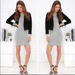 Lulus Come Back Baby Body Con Dress